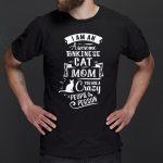 Tonkineses Cat Mom Funny Saying T-Shirts