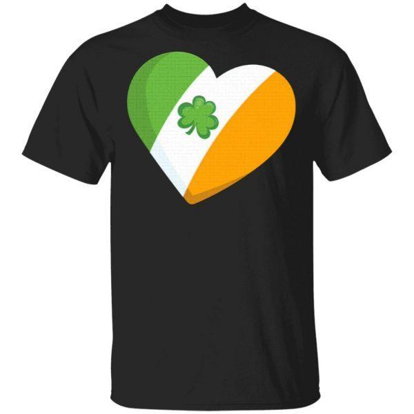 Kids St Patricks Day Irish Heart T-Shirt