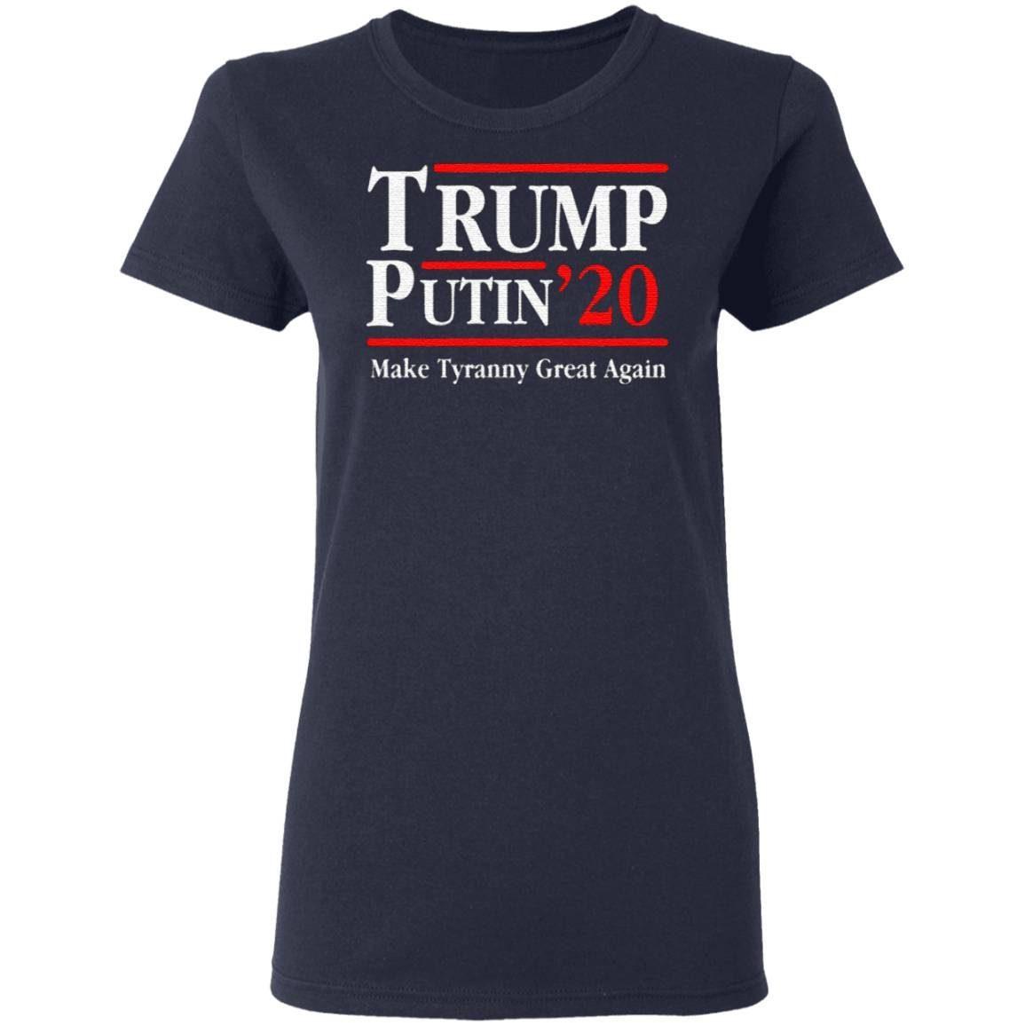 Trump Putin 2020 T Shirt