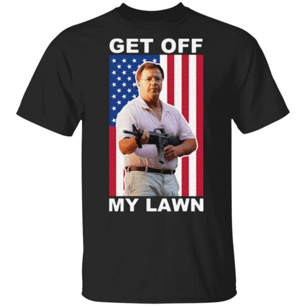 Ken And Karen Get Off My Lawn Us Flag T Shirt