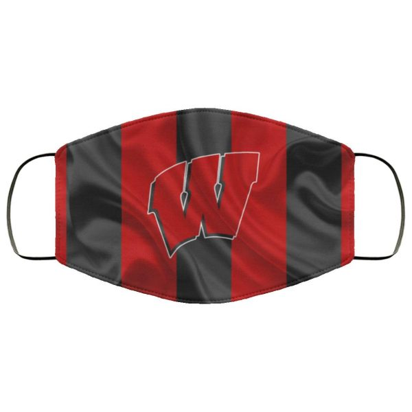Wisconsin Badgers Face Mask