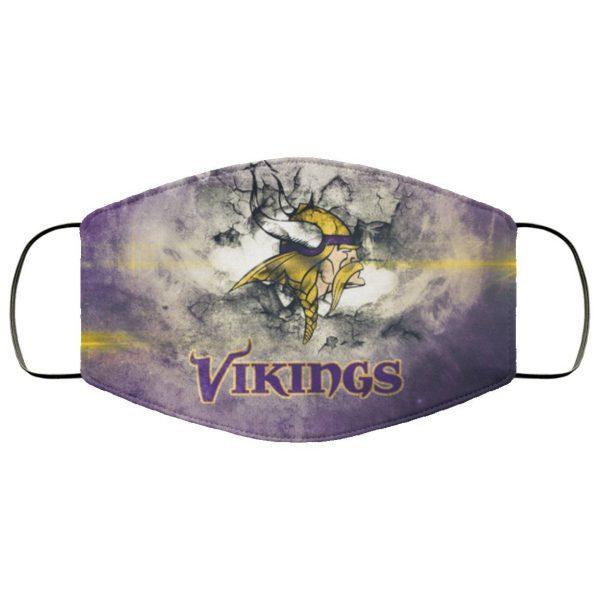 Minnesota Vikings Face Mask us PM2.5