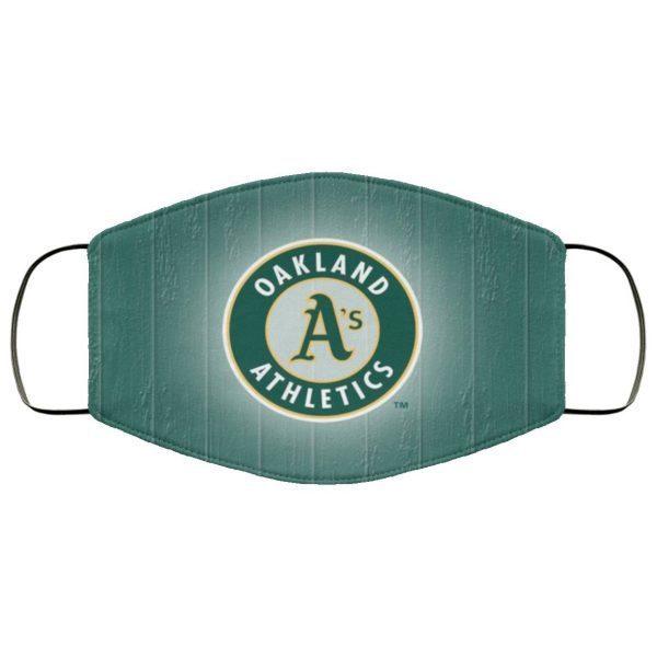 Oakland Athletics Face Mask Filter PM2.5
