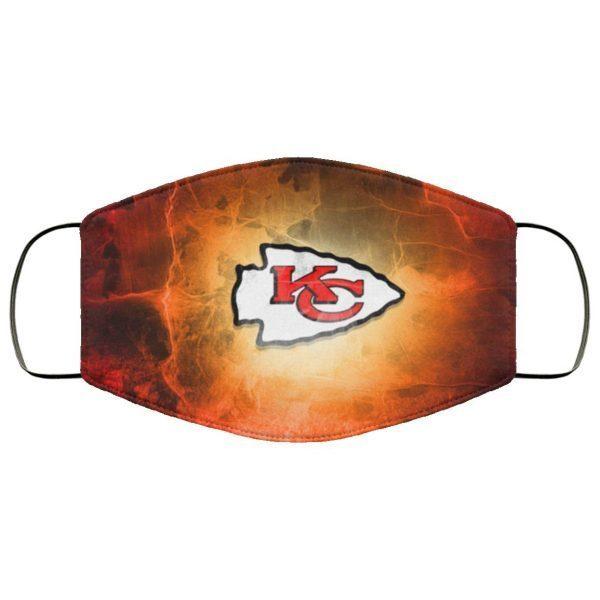 Kansas City Chiefs Face Mask Filter PM2.5