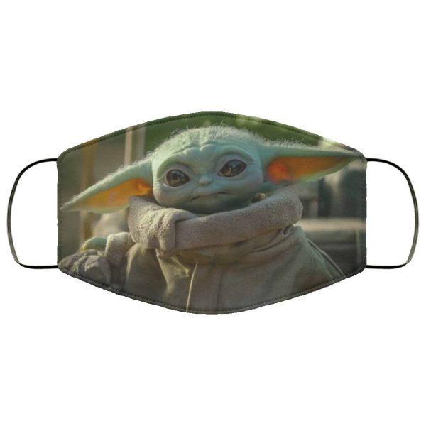Baby yoda the mandalorian Face mask PM2.5 Filter