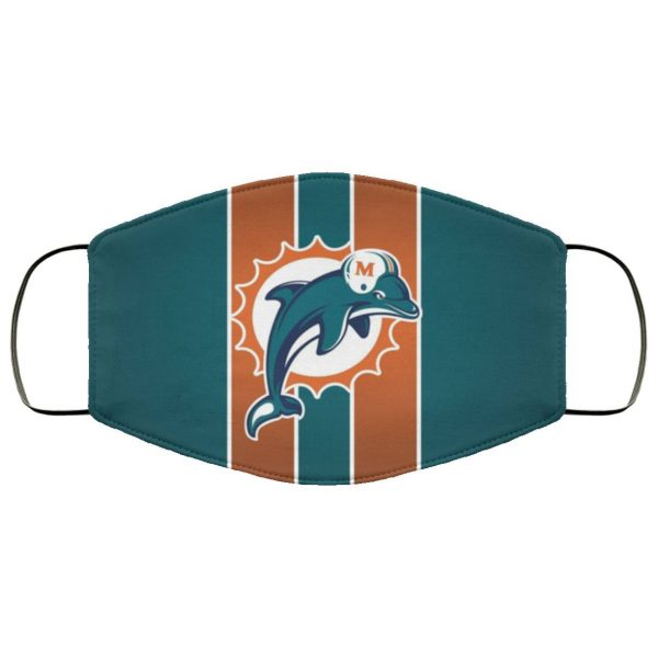 Miami Dolphins Face Mask Filter PM2.5
