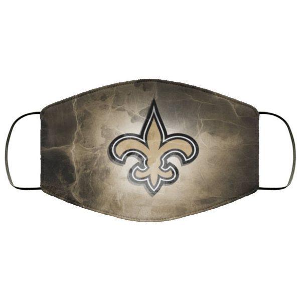 New Orleans Saints Face Mask Filter PM2.5