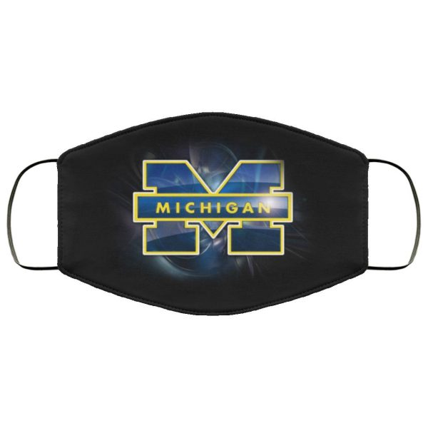 Michigan Wolverines Face Mask Filter PM2.5