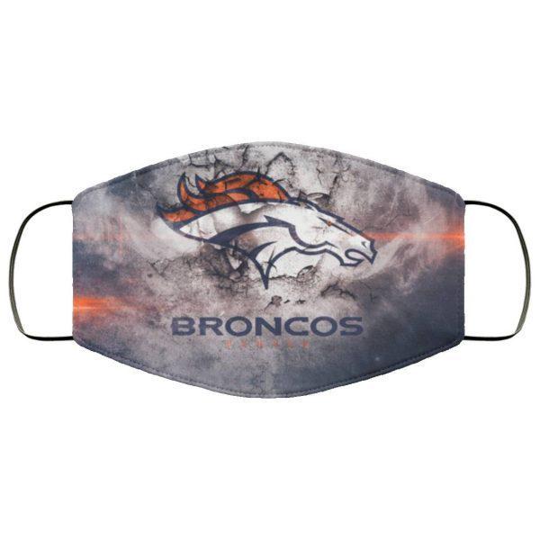 Denver Broncos Face Mask Filter PM2.5