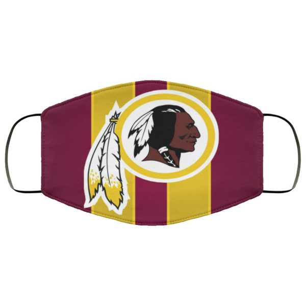 Washington Redskins Face Mask Filter PM2.5