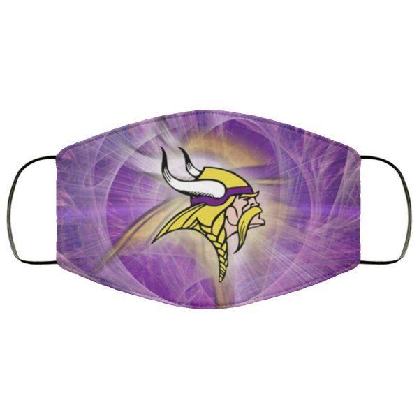 Minnesota Vikings Face Mask Filter PM2.5