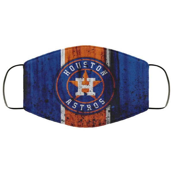 Houston Astros Face Mask Filter PM2.5