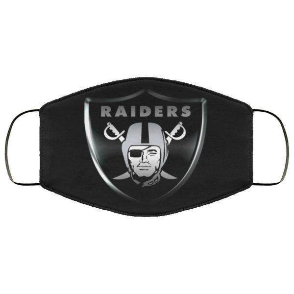 Las Vegas Raiders cloth face masks Filter PM2.5