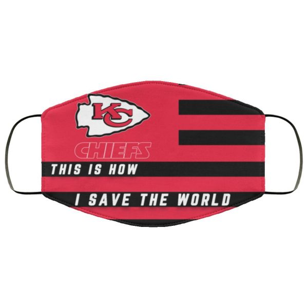 This Is How I Save The World Kansas City Chiefs Face Mask