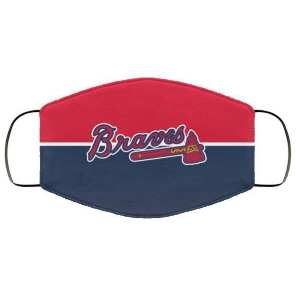 Atlanta Braves cloth face masks Filter PM2.5