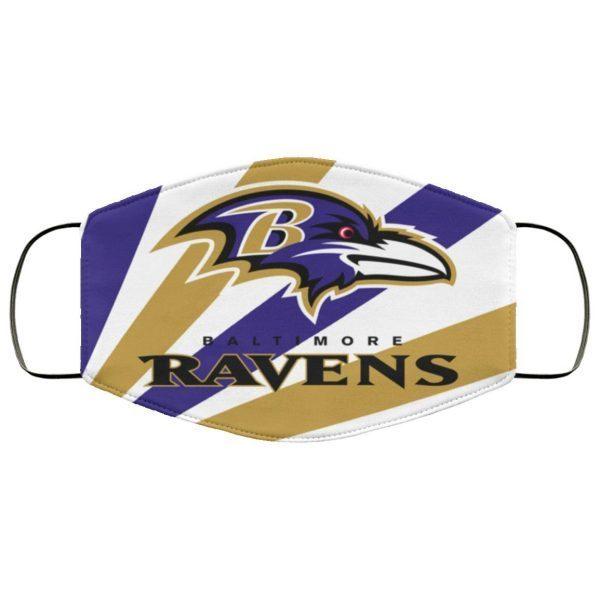 Fan Baltimore Ravens Face Mask Filter