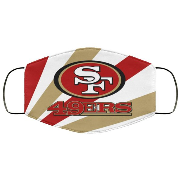 San Francisco 49ers Face Mask Filter