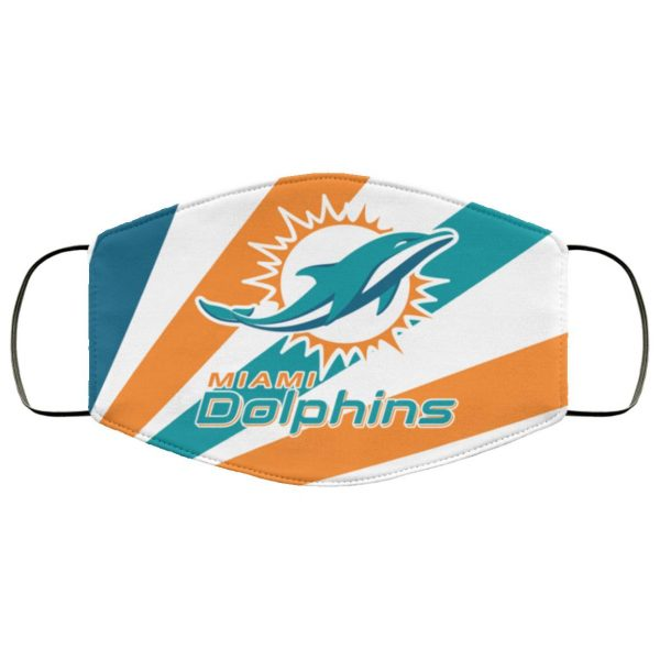 Miami Dolphins Face Mask Filter