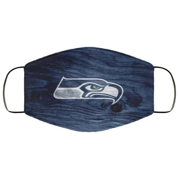 Seattle Seahawks Face Mask Filter PM2.5