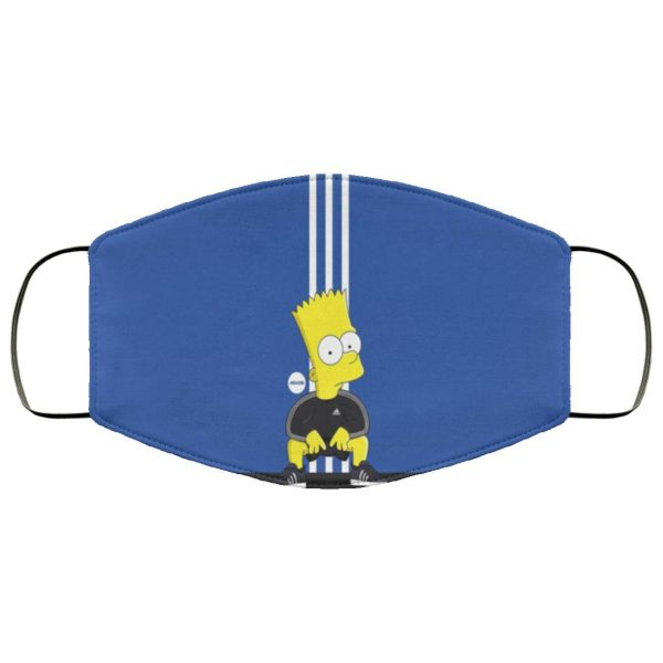 Figure, Adidas, Simpsons, Bart, Cartoon, The Simpsons, Character Face Mask