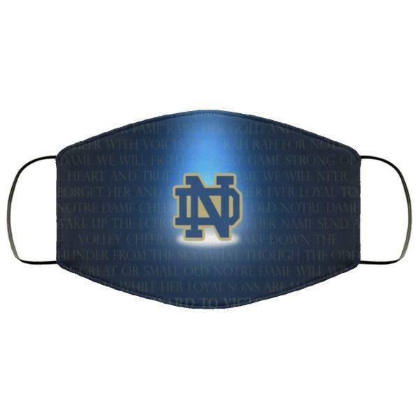 Team Notre Dame Cloth Face Mask
