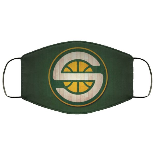 Seattle Supersonics Cloth face mask