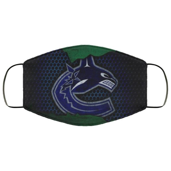 Vancouver Canucks face mask