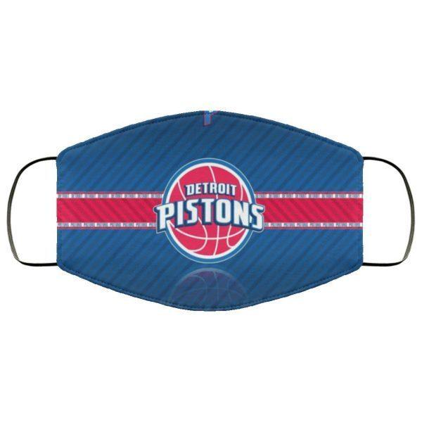 Detroit Pistons Logo Cloth face mask