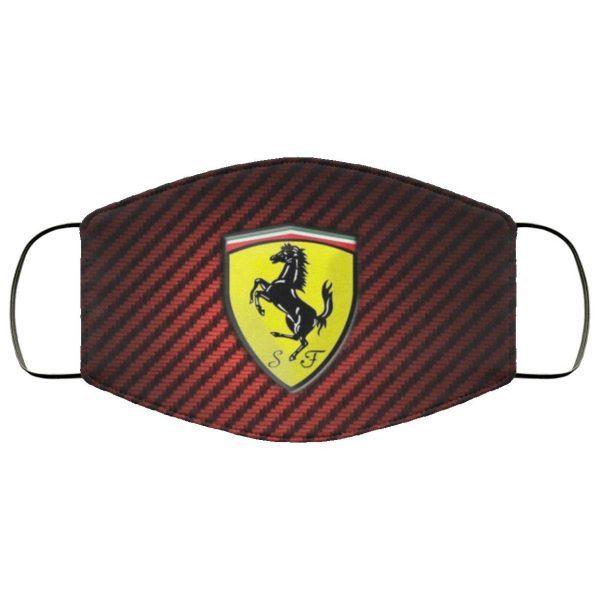 Ferrari Face Mask