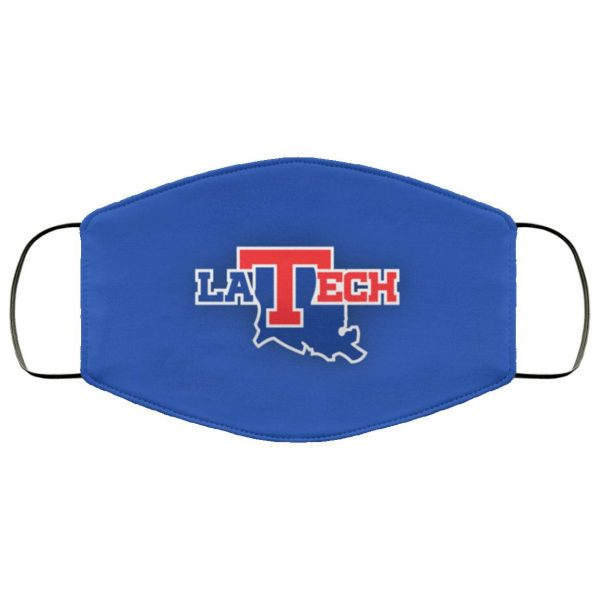 Louisiana Tech Face Mask