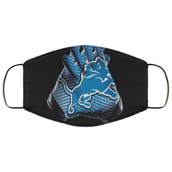 Funny Detroit Lions Football Cloth Face Mask