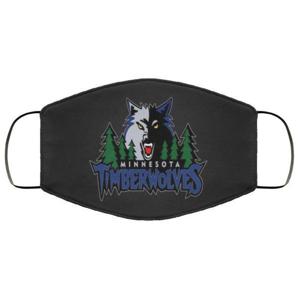 Minnesota Timberwolves Face Mask