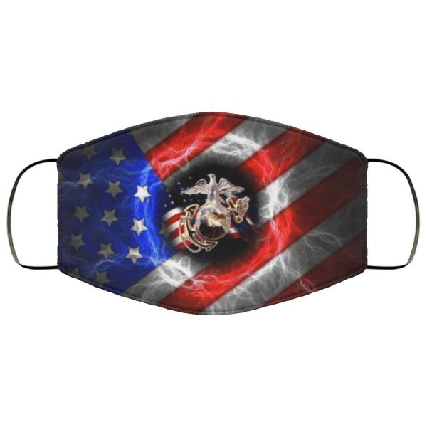 USMC Marines Corps Cloth Face Mask