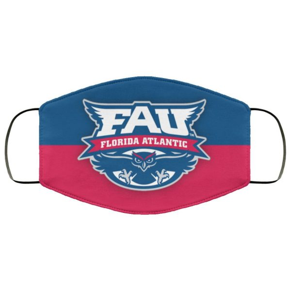 FAU Florida Atlantic University Face Mask
