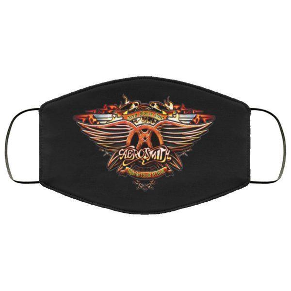 Aerosmith Cloth face mask