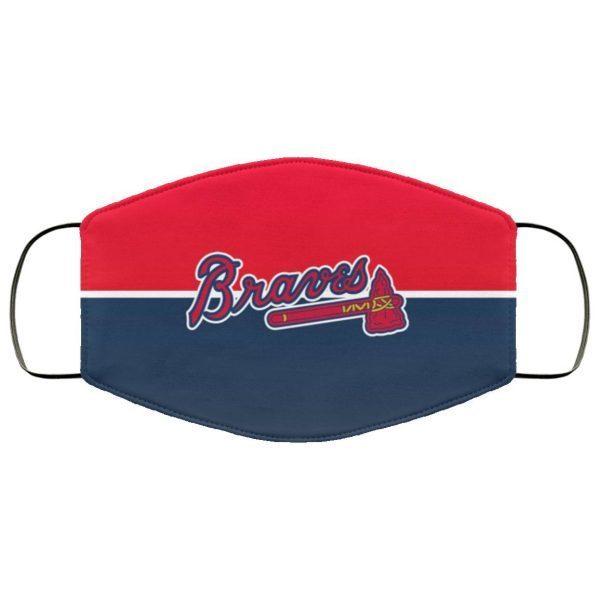 Atlanta Braves cloth face masks filter
