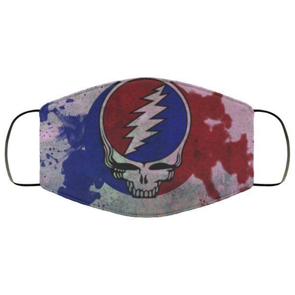 Grateful Dead Cloth Face Mask