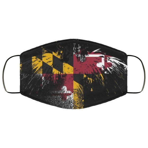 Maryland Flag Cloth Face Mask