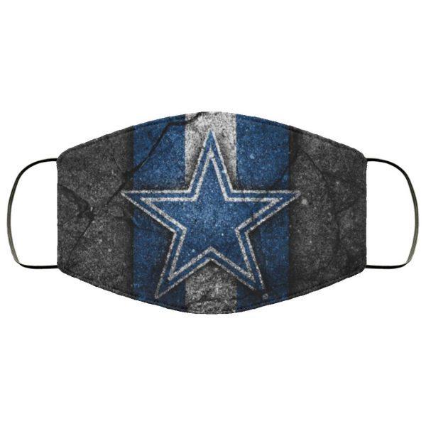 Dallas Cowboys Fabric Face Mask