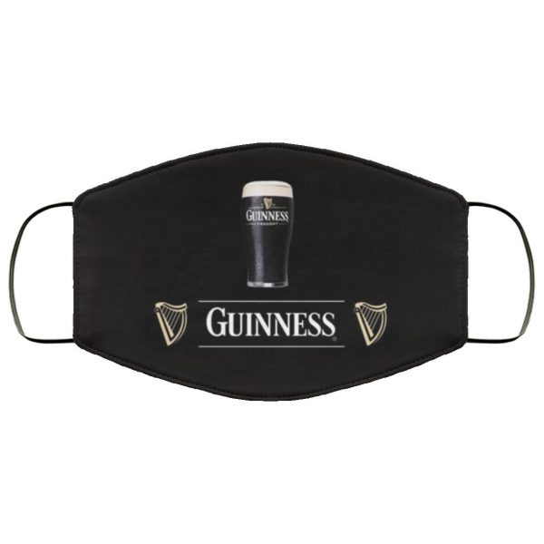 Guinness beer face mask