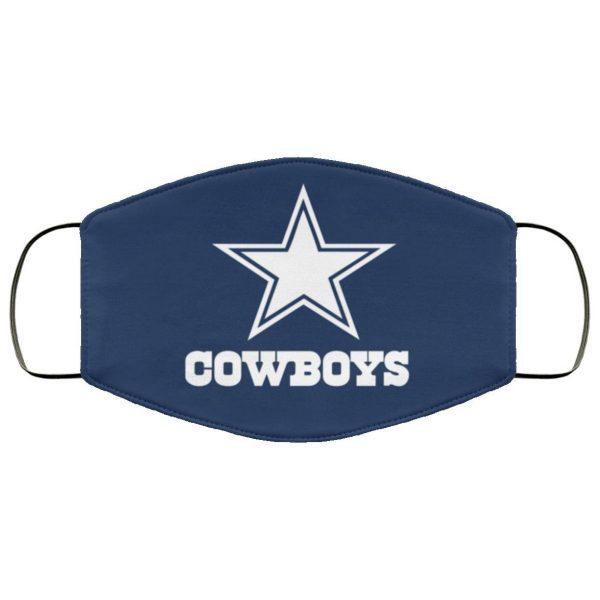 Dallas Cowboys Face Mask – Adults Mask US