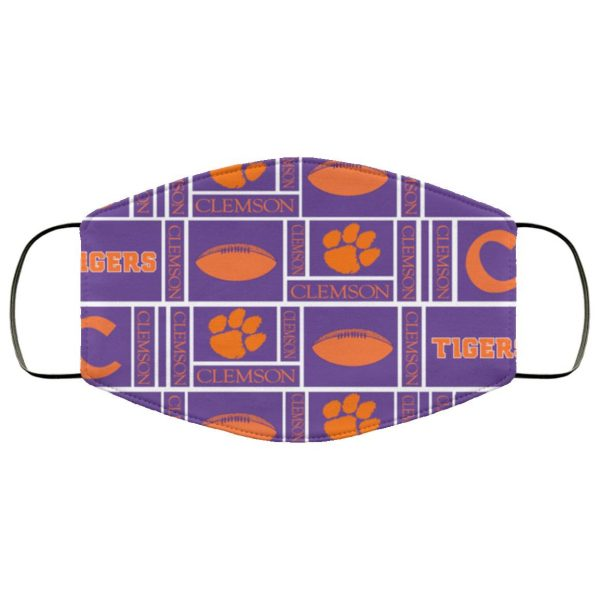 Clemson Tiger Fabric Face Mask – Adults Mask US