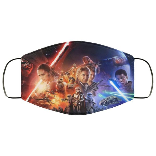 Star wars cloth face mask