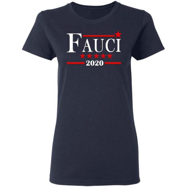 Dr. Anthony Fauci Immunologist 2020 Campaign T-Shirt