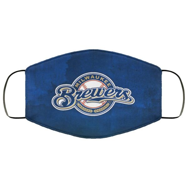 Pro milwaukee brewers Face Mask