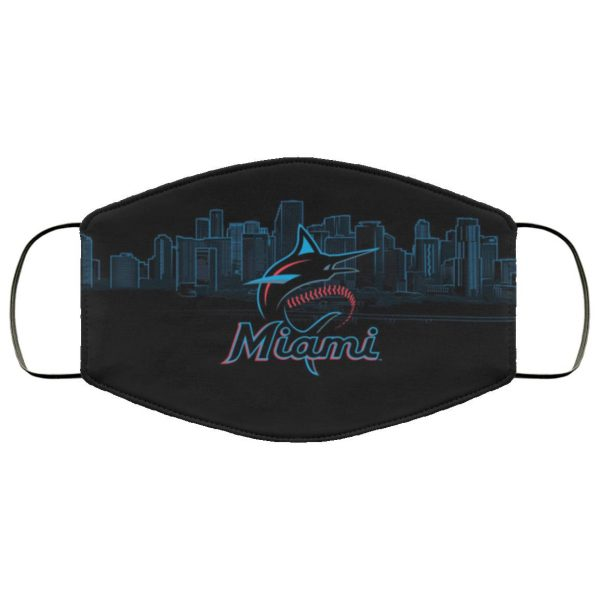 Miami Marlins cloth Face Mask