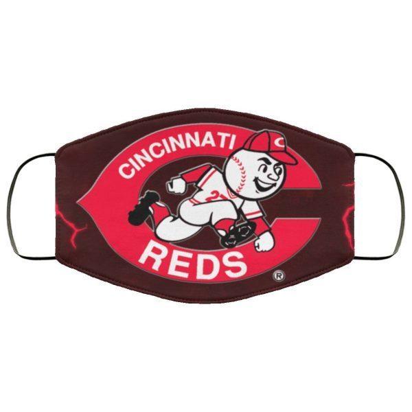 Cincinnati Reds cloth Face Mask