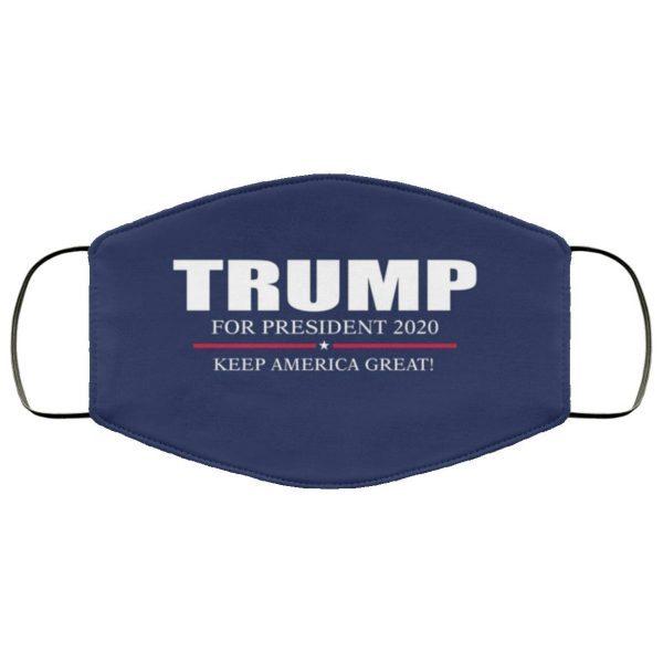 Donald Trump 2020 Keep America Great Face Mask