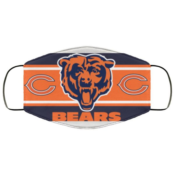 Chicago Bears Face Mask – Adults Mask 2020 US Face Mask