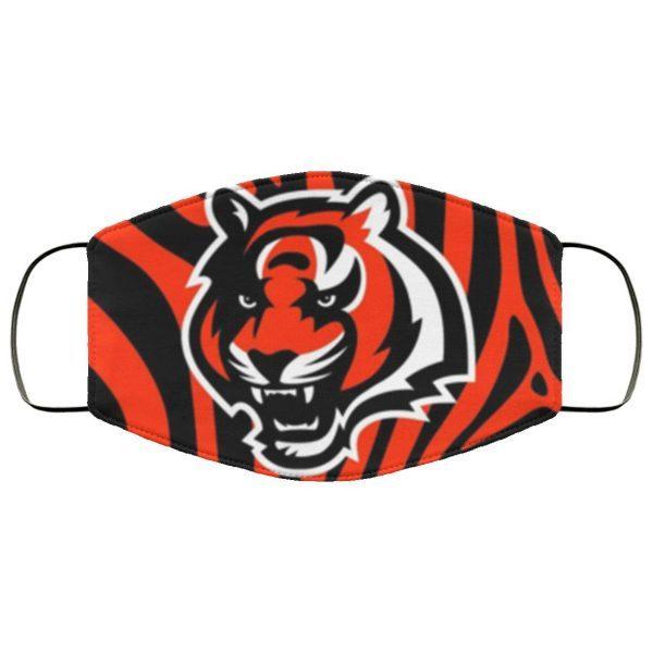 Cincinnati Bengals face CLOTH Face Mask